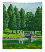 The Willow Path Fleece Blanket