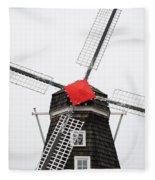 The Windmill Fleece Blanket