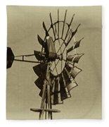The Windmills Of My Mind Fleece Blanket