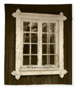 The Window 2 Fleece Blanket