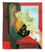 The Window Of The Painter  Fleece Blanket