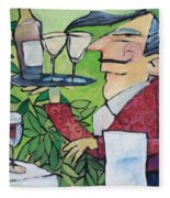 The Wine Steward Fleece Blanket
