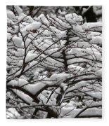The Winter Has Arrived Fleece Blanket