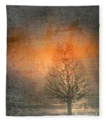 The Winter Still Fleece Blanket