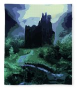 The Witching Hour  Fleece Blanket
