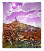 The Wizzard Fleece Blanket
