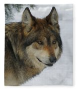 The Wolf 2 Fleece Blanket