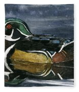 The Wood Duck Fleece Blanket