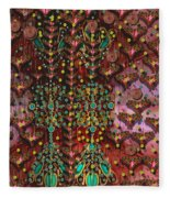 The Wood Of Paradise Fleece Blanket