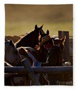 The Wrangler Fleece Blanket