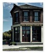 The Wright Cycle Company - Dayton Ohio Fleece Blanket