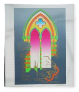 The Wurlitzer Window Fleece Blanket