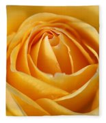 The Yellow Rose Fleece Blanket