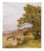 The Young Artist Fleece Blanket
