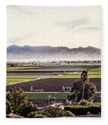 The Yuma Valley Fleece Blanket