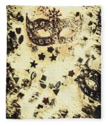 Theater Fun Art Fleece Blanket