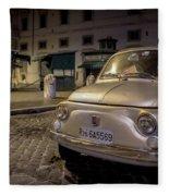The Fiat 500 Fleece Blanket