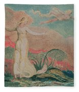 Thel In The Vale Of Har Fleece Blanket