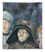 There Goes The Planet Fleece Blanket