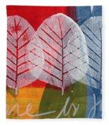 There Is Joy Fleece Blanket