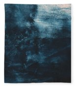 There When I Need You- Abstract Art By Linda Woods Fleece Blanket