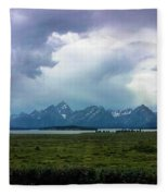 There's A Storm Coming... Fleece Blanket