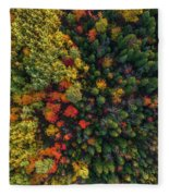 These Are Trees Fleece Blanket