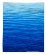 These Are Water Reflections In Lake Fleece Blanket