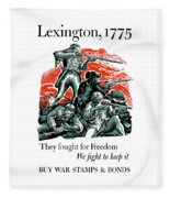 They Fought For Freedom - We Fight To Keep It Fleece Blanket