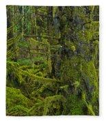 Thick Rainforest Fleece Blanket