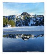 Thin Ice Fleece Blanket