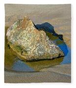 Third Study Of A Rock Fleece Blanket