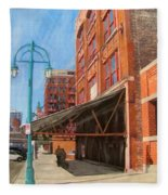 Third Ward - Broadway Awning Fleece Blanket