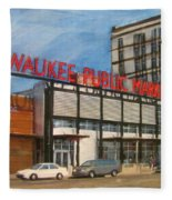 Third Ward - Milwaukee Public Market Fleece Blanket