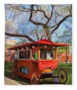 Third Ward - Popcorn Wagon Fleece Blanket