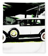 Thirties Packard Limo Fleece Blanket
