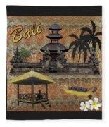 This Is Bali Fleece Blanket