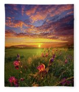 This Life Is A Gift For Everyone Fleece Blanket
