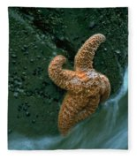 This Starfish Has A Good Grip Fleece Blanket