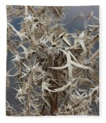 Thistles Fleece Blanket