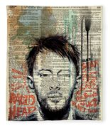 Thom Yorke Fleece Blanket