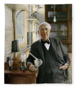 Thomas Edison Fleece Blanket