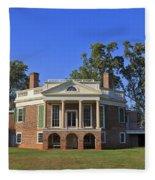 Thomas Jefferson's Poplar Forest Fleece Blanket