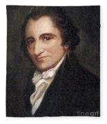 Thomas Paine, American Founding Father Fleece Blanket