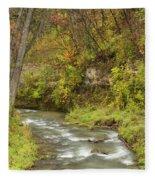 Thompson Creek Autumn 1 B Fleece Blanket