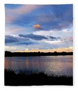 Thompson Lake 3 Fleece Blanket
