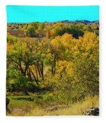 Thompson Valley Overlook Fleece Blanket