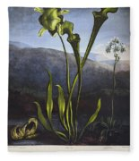 Thornton: Bog Plants Fleece Blanket