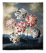 Thornton: Carnations Fleece Blanket