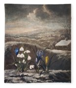 Thornton: Crocusi Fleece Blanket